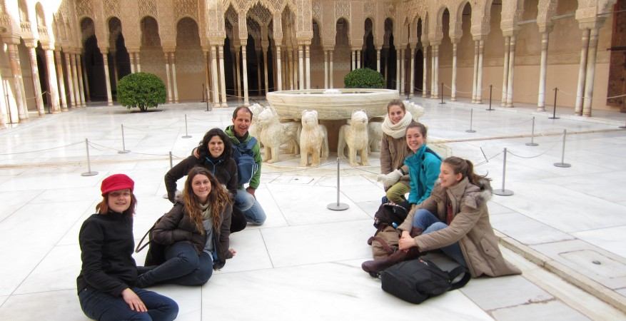 Alhambra students tour