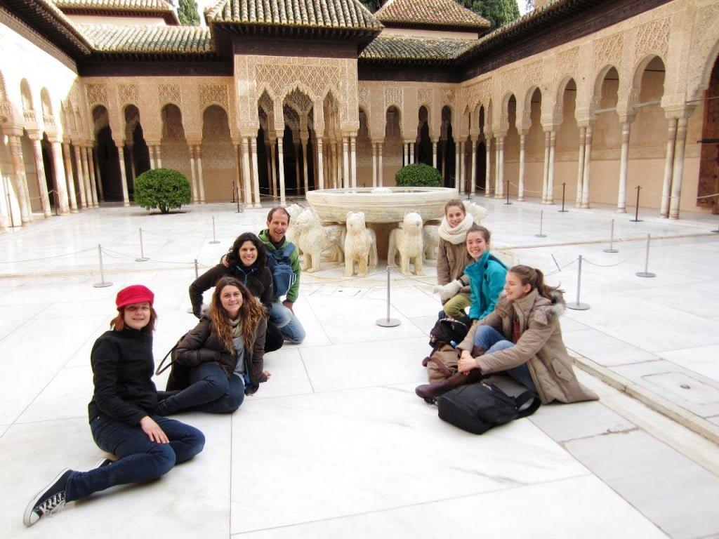 La leyenda del Patio de los Leones, leyendas de la Alhambra y Granada