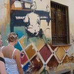 passeggiata graffiti granada