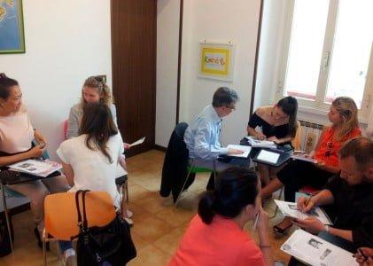 Koine classroom