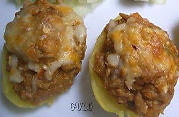 Patatas rellenas con carne