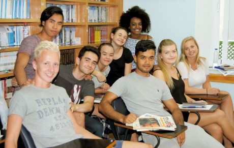 Estudiantes noruegos