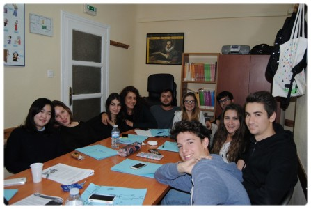 A students group's stay from Mogliano Veneto