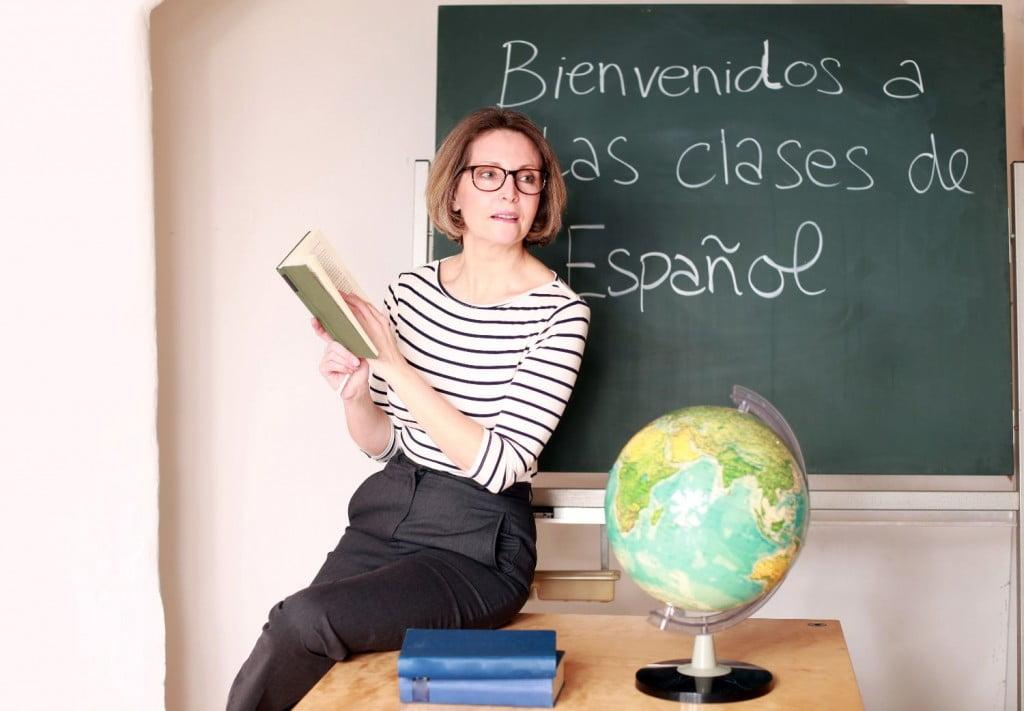 ltere Lehrerin