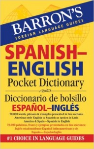 Barrons Spanish English Pocket Dictionary