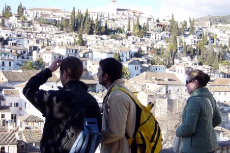 Walk to Albayzin Granada with Inmsol Learning Spanish
