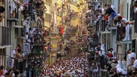 Calle en San Fermín