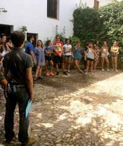 Casa museo Lorca con profesor