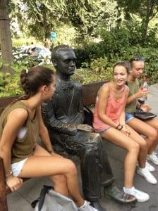 Estudiantes con Lorca
