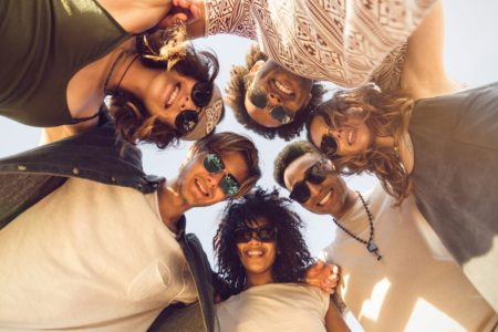 Learn Spanish in group with friends in Spain
