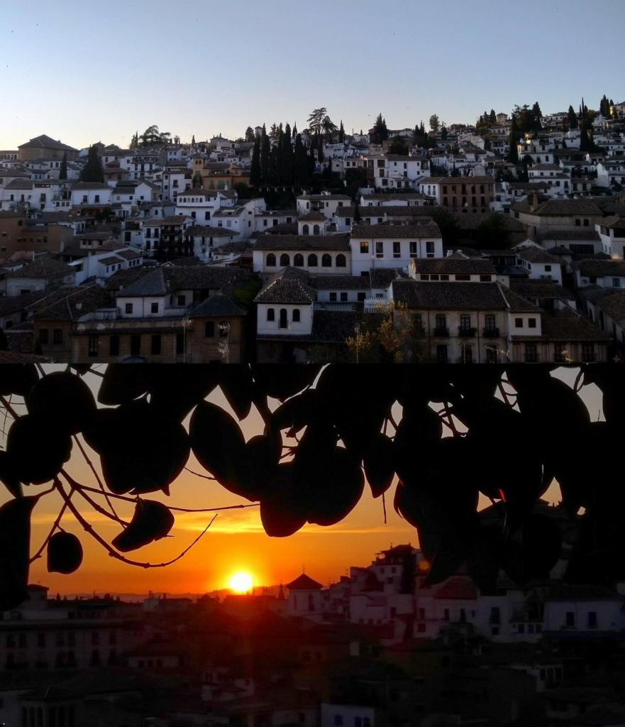 Mirador de la churra in Granada