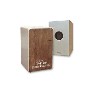 Cajon Flamenco Nat Wood Line Nogal