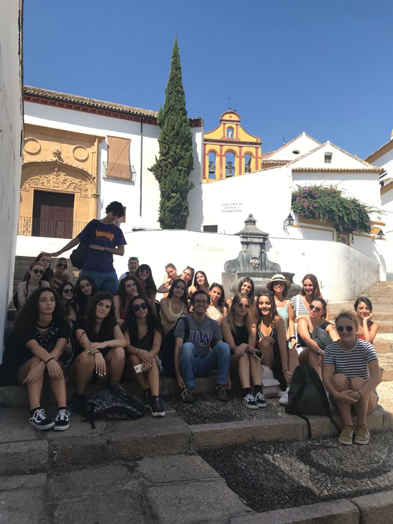 Italian students in Cordoba