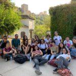 Grupo de estudiantes | Curso de español para italianos en Granada