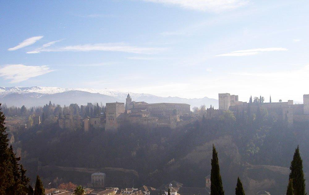 Vistas de la Alhambra y el Generalife