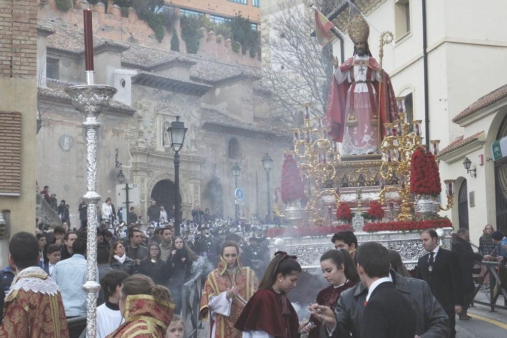 Procesión de San Cecilio en Granada
