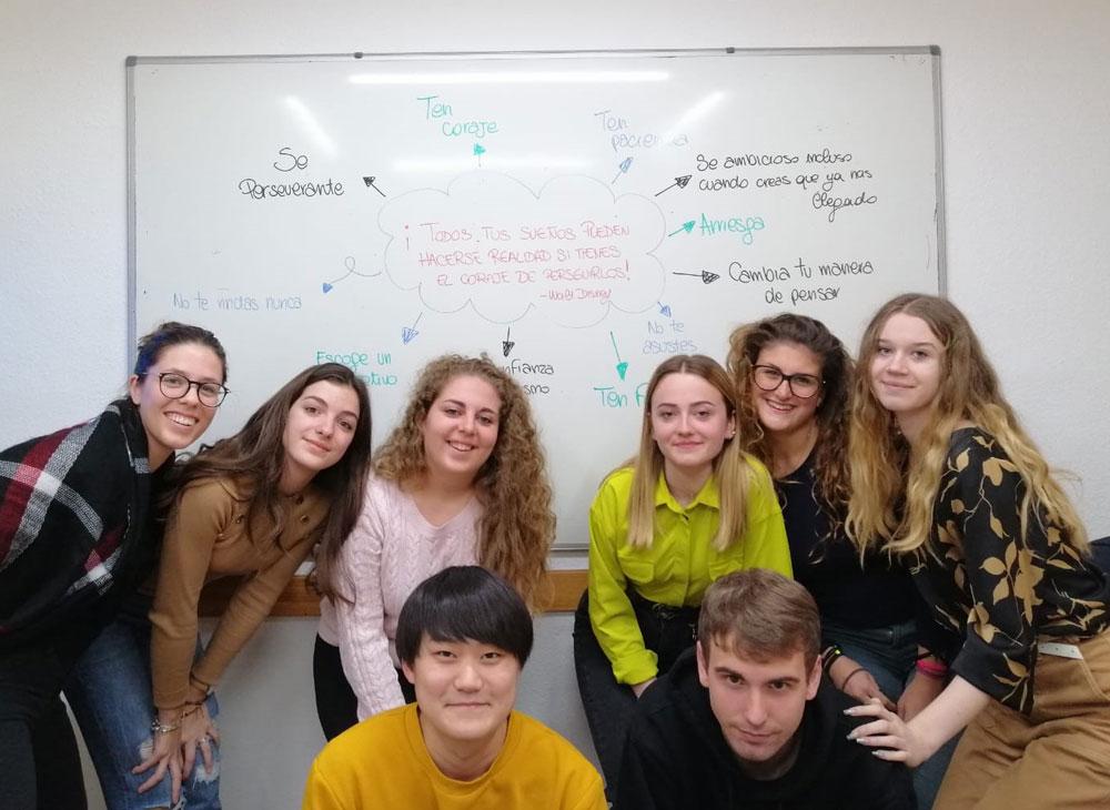Estancia lingüística para un grupo de estudiantes de Italia | iNMSOL