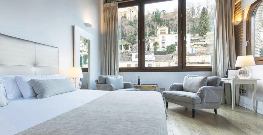 Habitación de hotel en Granada
