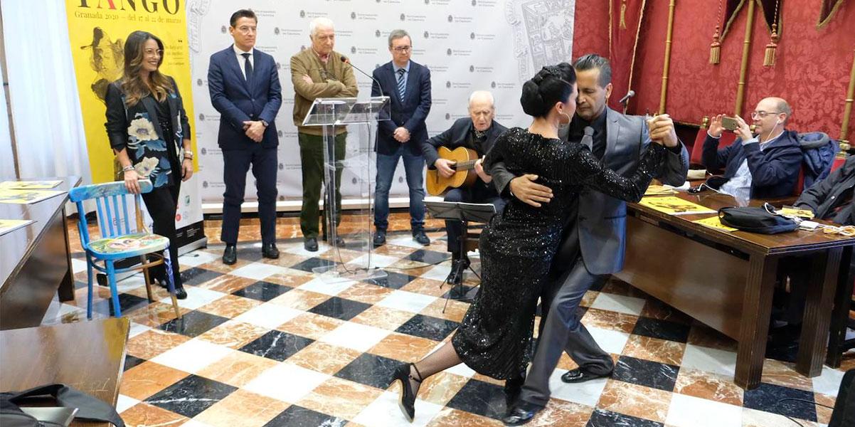 Presentación del Festival Internacional de Tango de Granada 2020