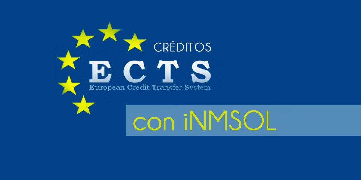 Consigue créditos ECTS con iNMSOL
