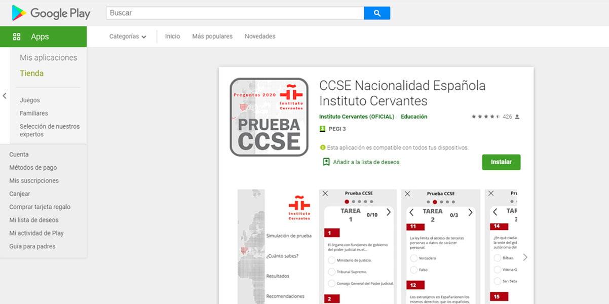 Scaricare app CCSE