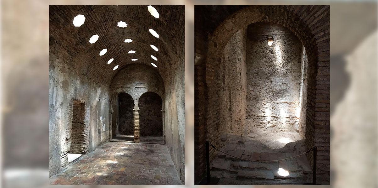 El Bañuelo baños árabes Granada